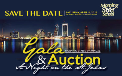 "SAVE THE DATE! DON'T MISS OUR 6TH ANNUAL GALA & AUCTION ""AN EVENING ON THE ST. JOHNS"" SATURDAY, APRIL 8TH"