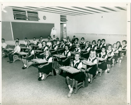 old classroom photo