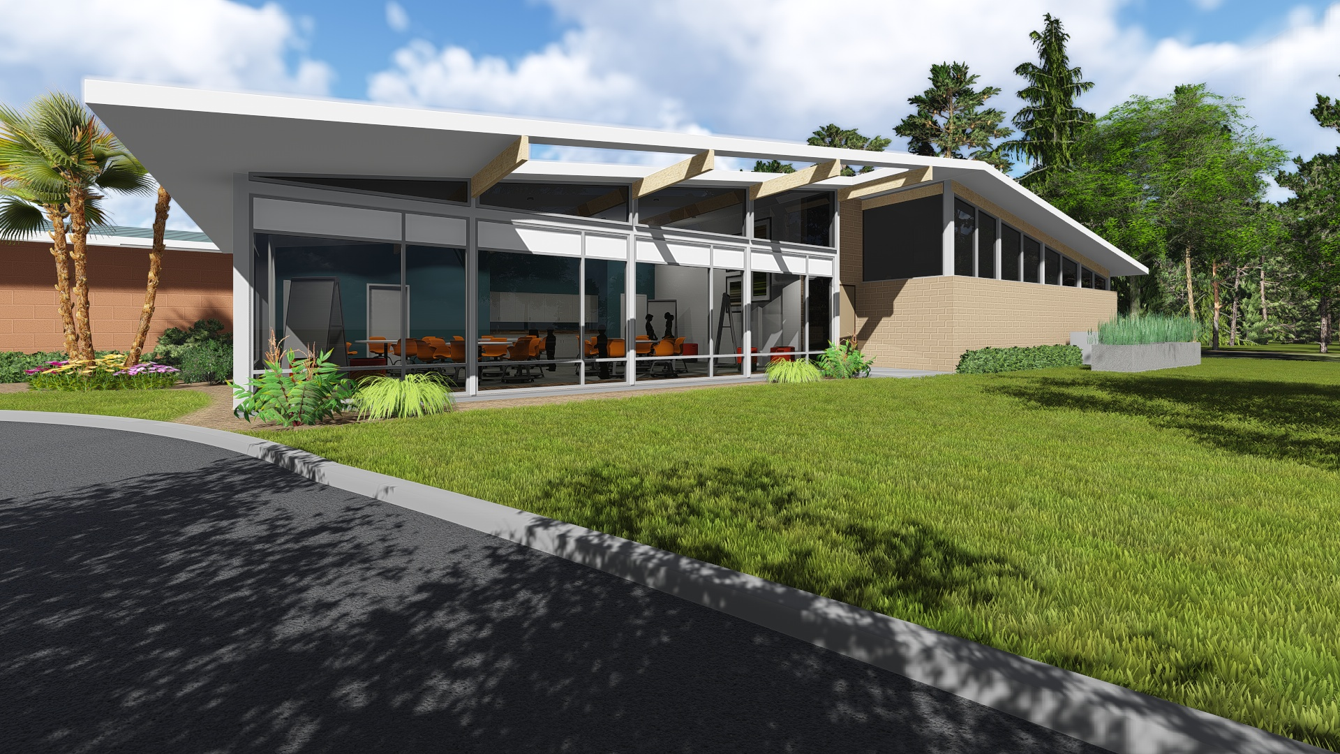 A Rendering Of Our New Media and Technology Center