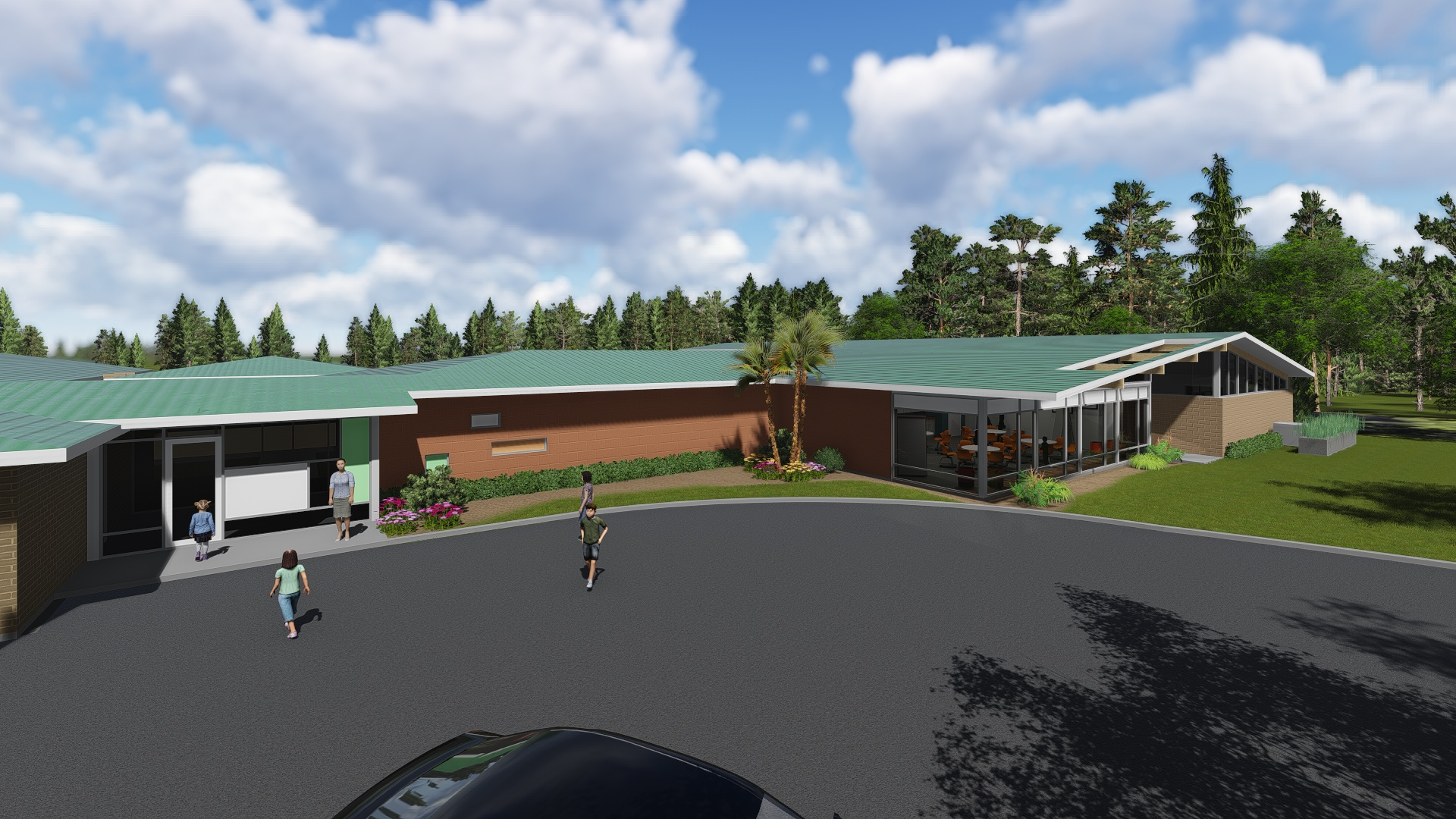 A Rendering Of Our New High School Building