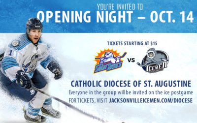 """JOIN US FOR A SPECIAL """"CATHOLIC NIGHT ON THE ICE"""" OCTOBER 14TH AT 7:30 PM"""