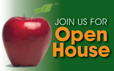 JOIN US AT OPEN HOUSE ON JANUARY 30TH FROM 9:00 AM TO 1:00 PM. TOUR OUR SCHOOL AND LET US SHOW YOU WHAT WE DO!