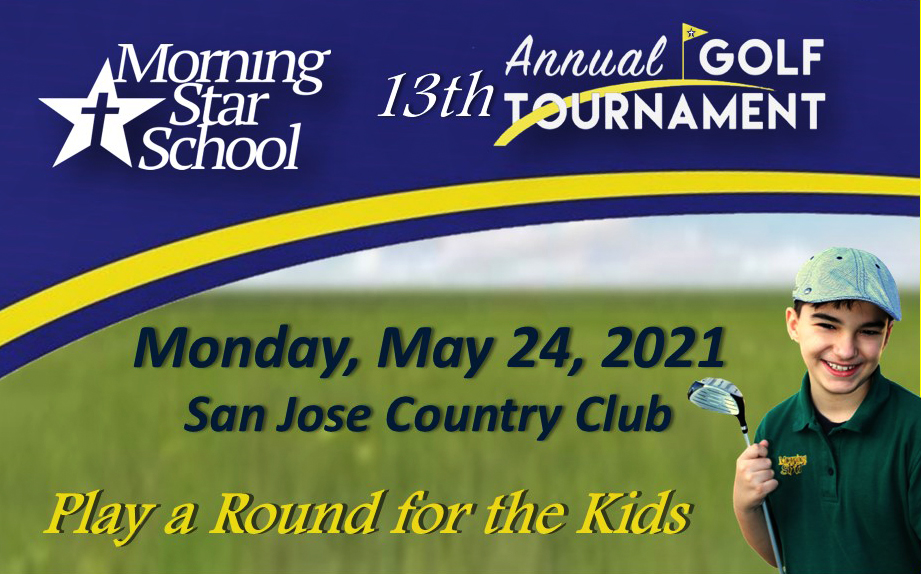 """""""SHOOT FOR  THE STARS"""" ON MAY 24 AT SAN JOSE COUNTRY CLUB! REGISTER YOUR FOURSOME BY  FEBRAUARY 28 AND TAKE $50 OFF! CLICK HERE FOR EVENT DETAILS."""